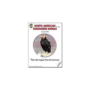 On The Mark Press North American Endangered Animals Lesson Plan Science Workbook, Grade 5 - Grade 6 [eBook]