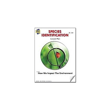 On The Mark Press Species Identification Lesson Plan Science Workbook, Grade 5 - Grade 8 [eBook]