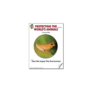 On The Mark Press Protecting the World's Animals Lesson Plan Science Workbook, Grade 6 - Grade 8 [eBook]