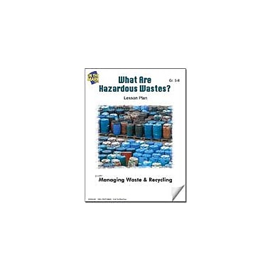 On The Mark Press What Are Hazardous Wastes? Lesson Plan Science Workbook, Grade 5 - Grade 8 [eBook]