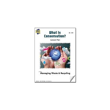 On The Mark Press What Is Conservation? Lesson Plan Science Workbook, Grade 5 - Grade 8 [eBook]