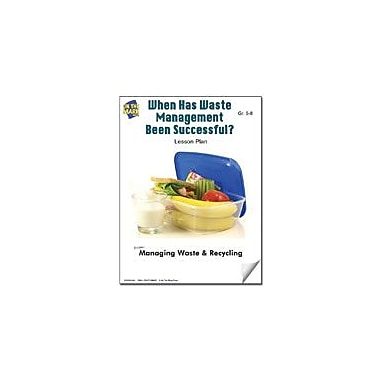 On The Mark Press When Has Waste Management Been Successful? Lesson Plan Science Workbook, Grade 5 - Grade 8 [eBook]