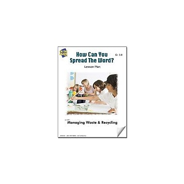 On The Mark Press How Can You Spread the Word? Lesson Plan Science Workbook, Grade 5 - Grade 8 [eBook]