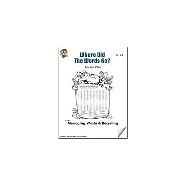 On The Mark Press Where Did the Words Go? Lesson Plan Science Workbook, Grade 5 - Grade 8 [eBook]