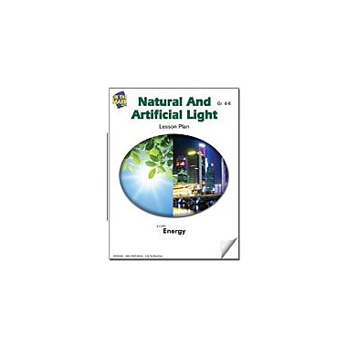 On The Mark Press Natural and Artificial Light Lesson Plan Science Workbook, Grade 4 - Grade 6 [eBook]