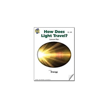 On The Mark Press How Does Light Travel? Lesson Plan Science Workbook, Grade 4 - Grade 6 [eBook]