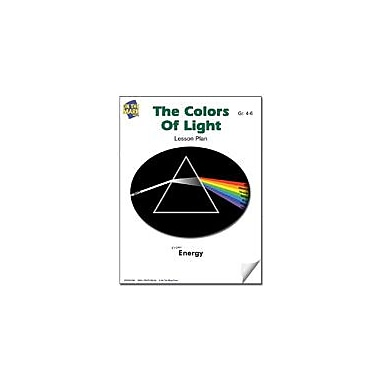 On The Mark Press The Colors of Light Lesson Plan Science Workbook, Grade 4 - Grade 6 [eBook]