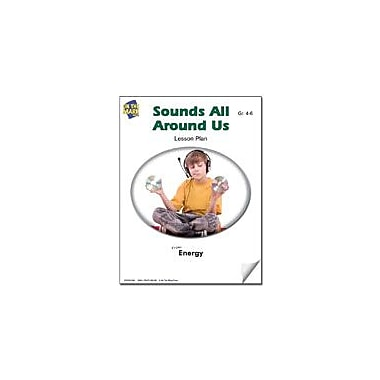On The Mark Press Sounds All Around Us Lesson Plan Science Workbook, Grade 4 - Grade 6 [eBook]