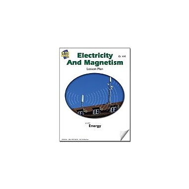 On The Mark Press Electricity and Magnetism Lesson Plan Science Workbook, Grade 4 - Grade 6 [eBook]