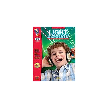 On The Mark Press Light and Sound Science Workbook, Grade 4 - Grade 6 [eBook]