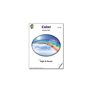 On The Mark Press Color Lesson Plan Science Workbook, Grade 4 - Grade 6 [eBook]