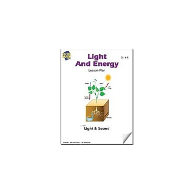 On The Mark Press Light and Energy Lesson Plan Science Workbook, Grade 4 - Grade 6 [eBook]