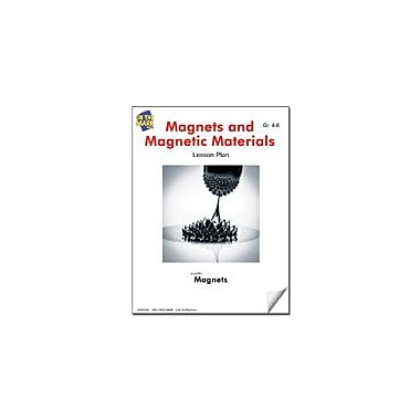On The Mark Press Magnets and Magnetic Materials Lesson Plan Science Workbook, Grade 4 - Grade 6 [eBook]