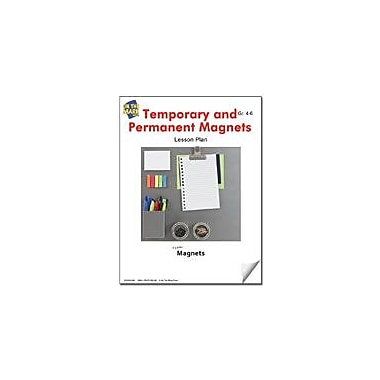 On The Mark Press Temporary and Permanent Magnets Lesson Plan Science Workbook, Grade 4 - Grade 6 [eBook]