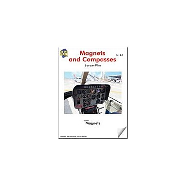 On The Mark Press Magnets and Compasses Lesson Plan Science Workbook, Grade 4 - Grade 6 [eBook]
