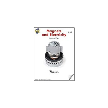 On The Mark Press Magnets and Electricity Lesson Plan Science Workbook, Grade 4 - Grade 6 [eBook]