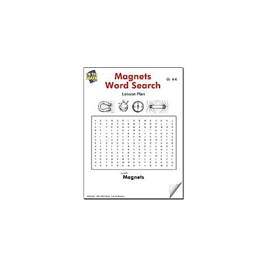 On The Mark Press Magnets Word Search Lesson Plan Science Workbook, Grade 4 - Grade 6 [eBook]