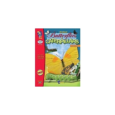On The Mark Press All About Butterflies and Caterpillars Science Workbook, Grade 1 - Grade 2 [Enhanced eBook]