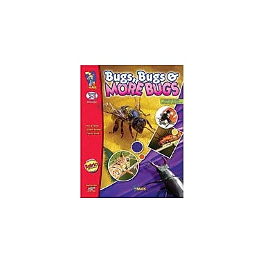 On The Mark Press Bugs, Bugs and More Bugs Science Workbook, Grade 2 - Grade 3 [eBook]