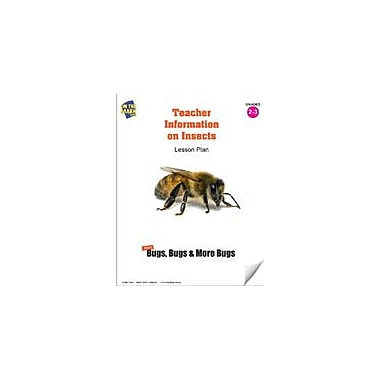 On The Mark Press Teacher Information On Insects Lesson Plan Computers Workbook, Grade 2 - Grade 3 [eBook]