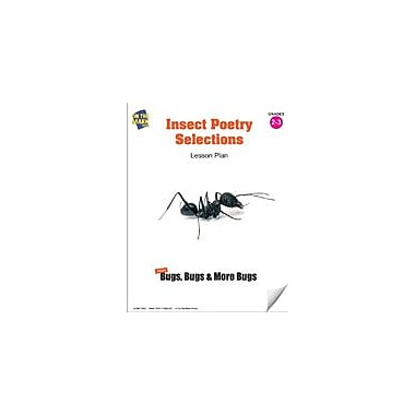 On The Mark Press Insect Poetry Selections Lesson Plan Science Workbook, Grade 2 - Grade 3 [eBook]