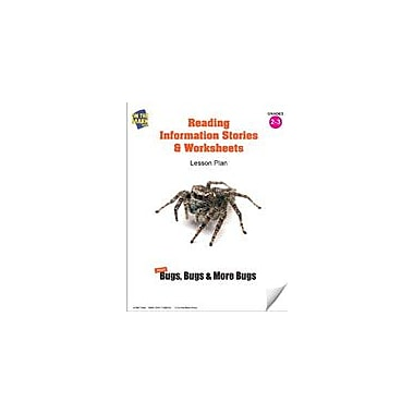 On The Mark Press Reading Information Stories and Worksheets On Insects Lesson Plan Science Workbook, Grade 2 - Grade 3 [eBook]
