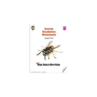 On The Mark Press Insects Vocabulary Worksheets Lesson Plan Science Workbook, Grade 2 - Grade 3 [eBook]