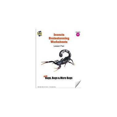 On The Mark Press Insects Brainstorming Worksheets Lesson Plan Science Workbook, Grade 2 - Grade 3 [eBook]