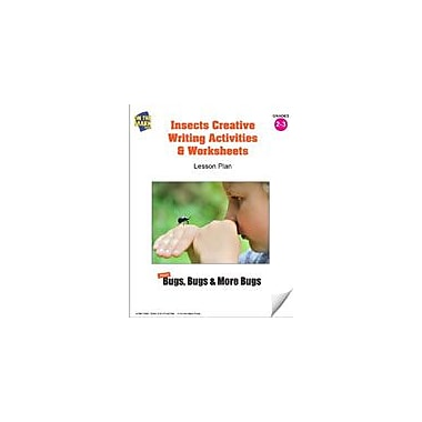 On The Mark Press Insects Creative Writing Activities and Worksheets Lesson Plan Science Workbook, Grade 2 - Grade 3 [eBook]