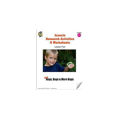 On The Mark Press Insects Research Activities and Worksheets Lesson Plan Science Workbook, Grade 2 - Grade 3 [eBook]