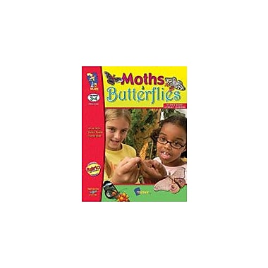 On The Mark Press Moths and Butterflies Science Workbook, Grade 3 - Grade 4 [Enhanced eBook]