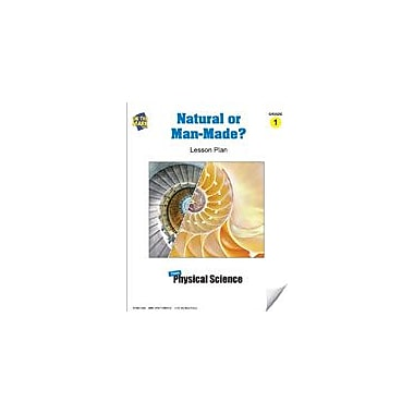 On The Mark Press Natural Or Man-Made Lesson Plan Science Workbook, Grade 1 [eBook]