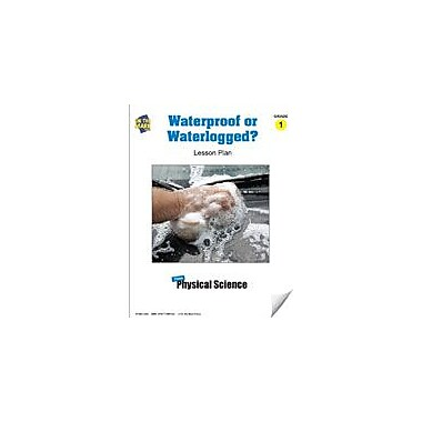 On The Mark Press Waterproof or Waterlogged? Lesson Plan Science Workbook, Grade 1 [eBook]