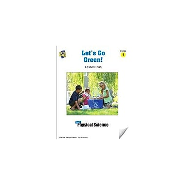 On The Mark Press Let's Go Green! Lesson Plan Science Workbook, Grade 1 [eBook]