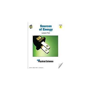 On The Mark Press Sources of Energy Lesson Plan Science Workbook, Grade 1 [eBook]