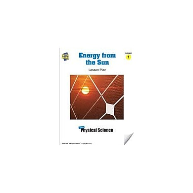 On The Mark Press Energy From the Sun Lesson Plan Science Workbook, Grade 1 [eBook]