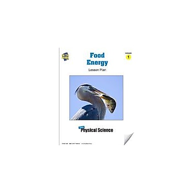 On The Mark Press Food Energy Lesson Plan Science Workbook, Grade 1 [eBook]