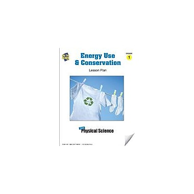 On The Mark Press Energy Use and Conservation Lesson Plan Science Workbook, Grade 1 [eBook]