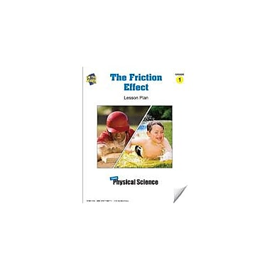 On The Mark Press The Friction Effect Lesson Plan Science Workbook, Grade 1 [eBook]