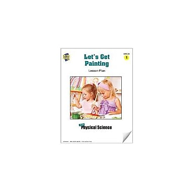 On The Mark Press Let's Get Painting Lesson Plan Science Workbook, Grade 1 [eBook]