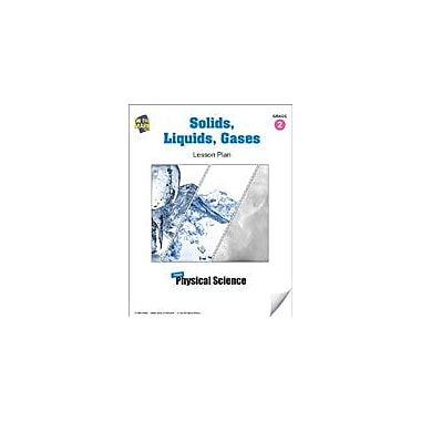 On The Mark Press Solids, Liquids, Gases Lesson Plan Science Workbook, Grade 2 [eBook]