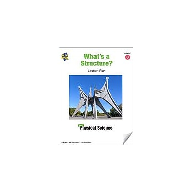 On The Mark Press What's A Structure? Lesson Plan Science Workbook, Grade 3 [eBook]