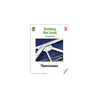 On The Mark Press Holding the Load Lesson Plan Science Workbook, Grade 3 [eBook]