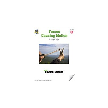 On The Mark Press Forces Causing Motion Lesson Plan Science Workbook, Grade 3 [eBook]