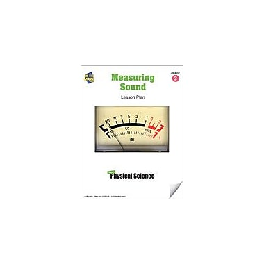 On The Mark Press Measuring Sound Lesson Plan Science Workbook, Grade 3 [eBook]