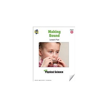 On The Mark Press Making Sound Lesson Plan Science Workbook, Grade 3 [eBook]