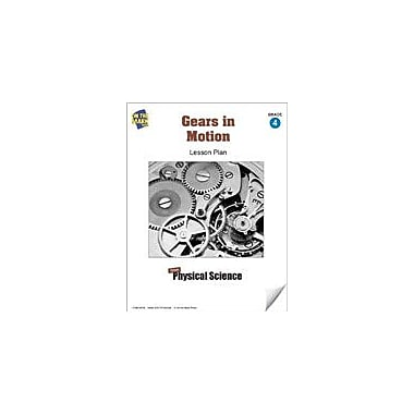 On The Mark Press Gears In Motion Lesson Plan Science Workbook, Grade 4 [eBook]