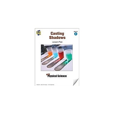 On The Mark Press Casting Shadows Lesson Plan Science Workbook, Grade 4 [eBook]