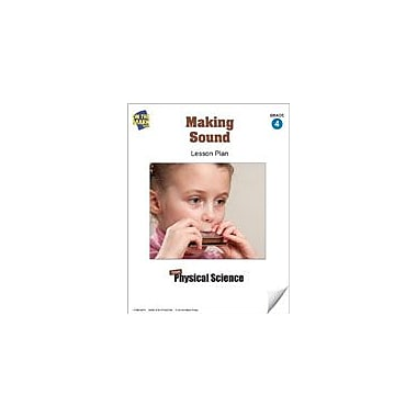 On The Mark Press Making Sound Lesson Plan Science Workbook, Grade 4 [eBook]