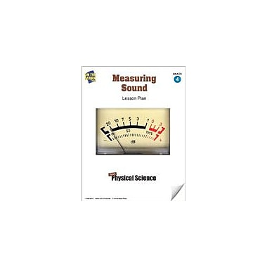 On The Mark Press Measuring Sound Lesson Plan Science Workbook, Grade 4 [eBook]